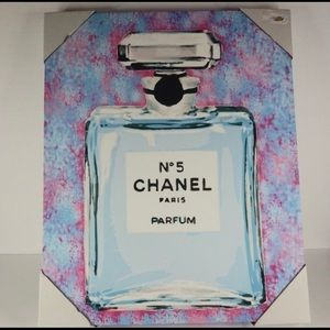 Wrapped Canvas Chanel Print New